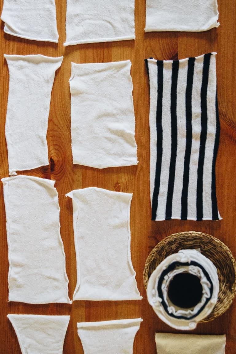 Das braucht ihr um Taschentücher aus Stoff selbst zu machen