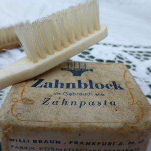 Zahnpasta ohne Plastik